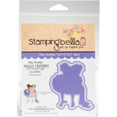 Stamping Bella Cut It Out Dies Tiny Townie - Huggy Friends